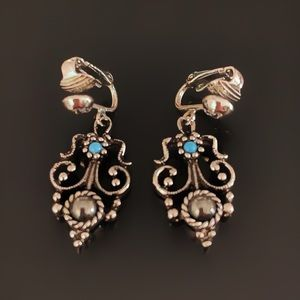 ✨Vintage Retro Dangling Clip On Earrings